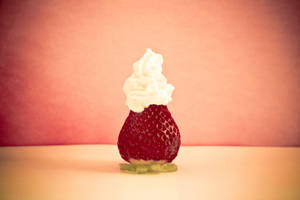 Strawberry + Cream by spanjebob89