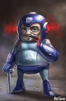 Mega Retired Man by Markdotea