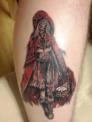 Red Riding Hood Tattoo by nyvz