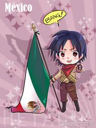 APH: Chibi Mexico by HaruMaru-Shi