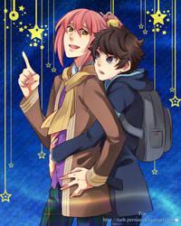 SS: Raiko and Gau for Dark-Persian by HaruMaru-Shi