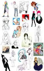 Sketchdump 2 by HaruMaru-Shi