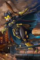 Steampunk Batgirl by MachSabre