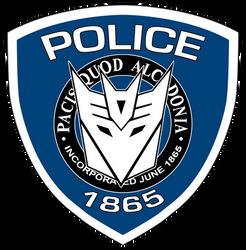 Movie Barricade Police Logo by MachSabre
