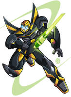 Quickblade Bumblebee by MachSabre