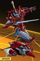 Transformers OC - Marwir by MachSabre