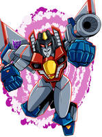 Starscream Cyberverse by MachSabre