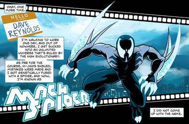 MachSpider Spidersona by MachSabre