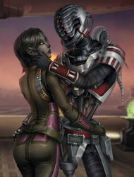 [Commission] SWTOR Valentine by ZliDe