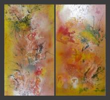 Blinding Splashes of Orange by MykeII