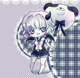 Little devil Panda by Keimichi