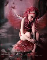 Fall Mushroom Fairy by JennLaa