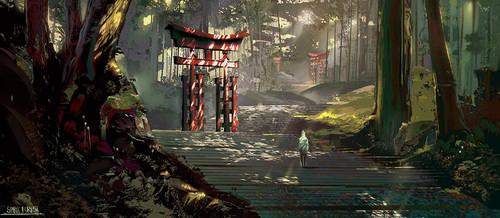 Spirit forest by BastaMarcin