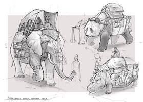 Animal transport by BastaMarcin