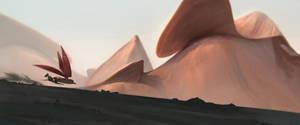 Desert speedpaint by BastaMarcin