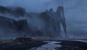 Castle on the rock by BastaMarcin