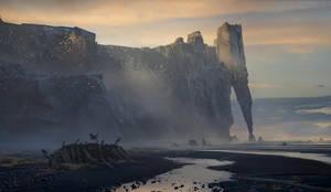 Castle on the rock2 by BastaMarcin