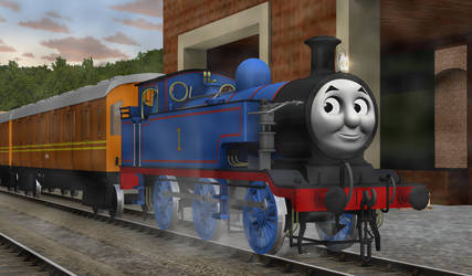 WWII Thomas by ilovetrains3232
