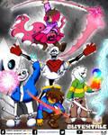 Glitchtale Love Part 2 Fan art by Rodlfato