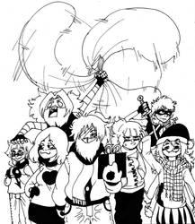 Especial oc navidad pg #1(Fan comic) by Rodlfato