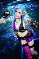 League of Legends: Jinx by SilentCircus90