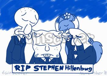 Spongebob - Farewell Stephen Hillenburg by twinscover