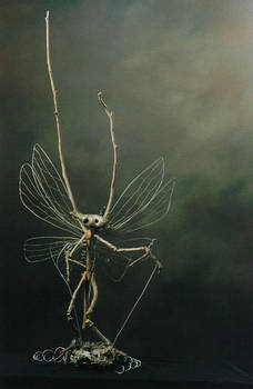 Winged Rod Puppet Faery 001 by elyobkram