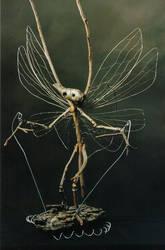 Winged Rod Puppet Faery 002 by elyobkram