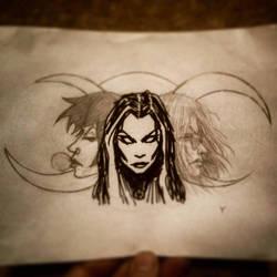 The Goddess. by Yanson