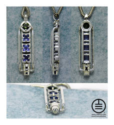 The Tanzanite Linkage 2 by manwithashadow