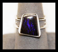 Boulder Opal Ring 2 by manwithashadow