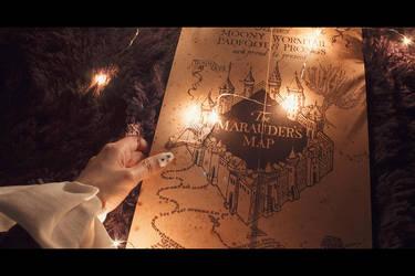 When Pierrot goes to Poudlard by Ming-Shuw