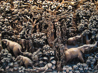 Elaborate Carving by Volv