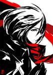 Mikasa Ackerman by the-hary