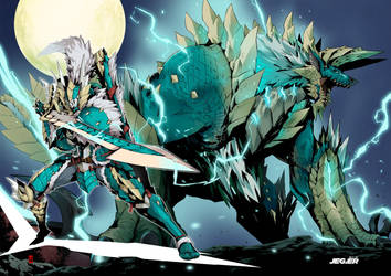 ZINOGRE by the-hary