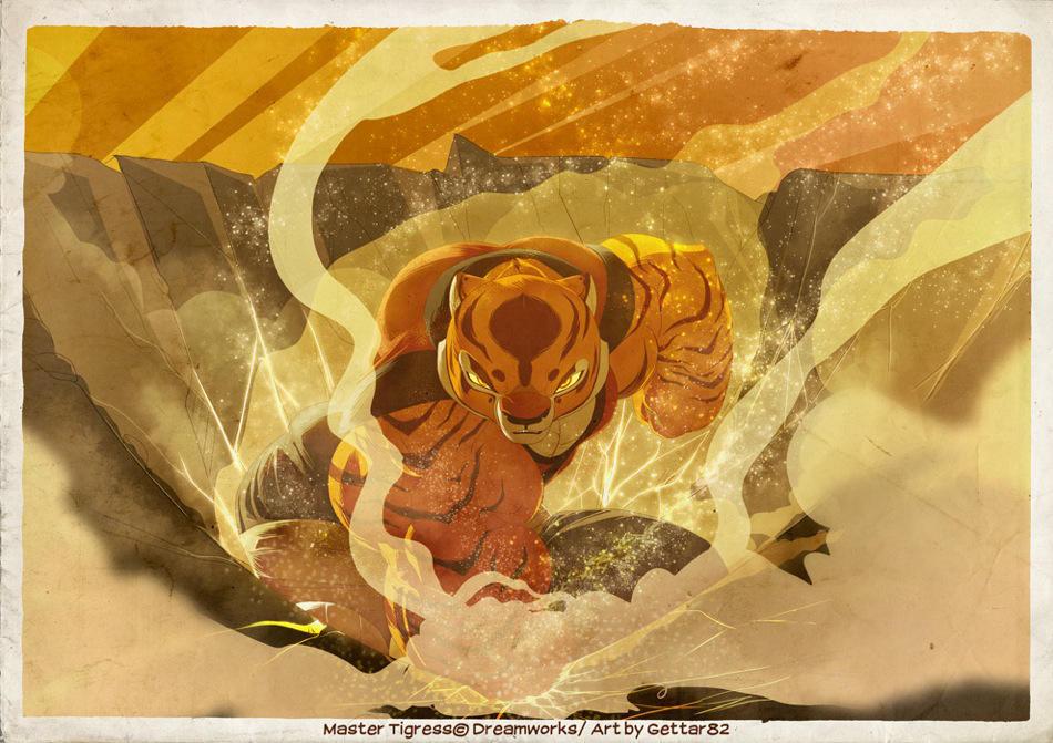 Tigress Stomp By Gettar82 On Deviantart