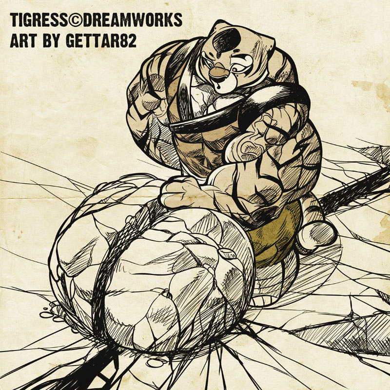Tigress Upsie By Gettar82 On Deviantart