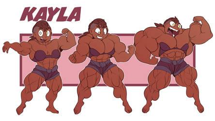 Kayla fmg SU style by Gettar82