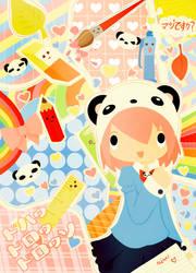 mimi school book by annalouise-art
