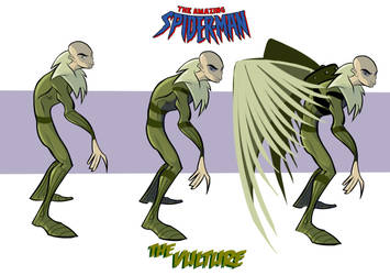 THE VULTURE CHARACTER DESIGN by TOBY71