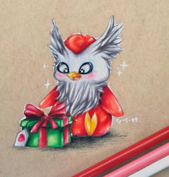 A Present for Delibird by Galactic-sky-99