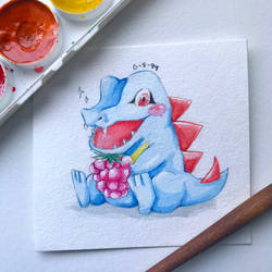 Totodile by Galactic-sky-99