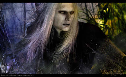 Prince Nuada - Eyes in the Dark by GabbyLeithsceal