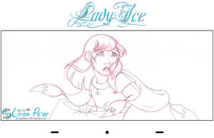 Lady Ice - Sen Rough 02 by LPDisney
