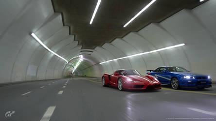 tunnel run! by DazKrieger