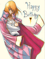 Howl's Moving Birthday Card by Empnezz