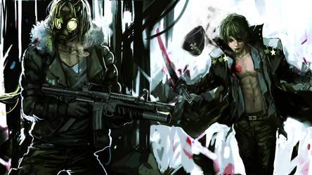 Psycho Warriors by shadow-saint1104