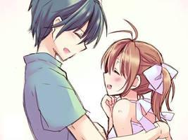 Nagisa and Tomoya by DrEverr