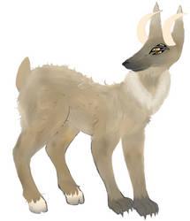 Wolf Stag by VelvetyVelvetRabbit