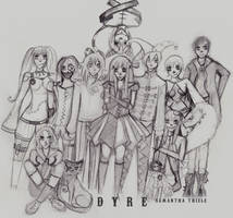 Character Project: Dyre by XxMissBrightSidexX